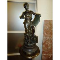 El Rodeo Entre Rios Escultura Petit Bronze J.b Germain