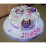 Tortas Decoradas Infantiles Primer Año 1 Añito Bautism Nenas