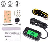 Tacometro Digital Cuenta Horas Sensor De Temperatura Service