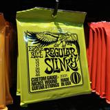 Encordado Ernie Ball 010 Guitarra Eléctrica 2221 Slinky Cuer