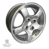 Llanta Aleacion Foudre R15 100% Original Peugeot 206 Gti