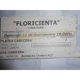Entrada A Floricienta Antiquisima De Coleccion !!