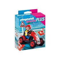 Playmobil Niño Coche Carreras 4759 Importado Original Plus