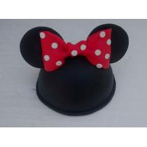 Adorno Cabeza De Minnie O Mickey Para Torta O Candy Bar