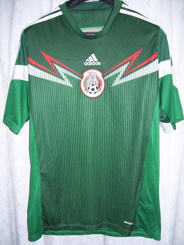 db1610e22e80e Mexico Seleccion Futbol Mundial Brasil 2014 adidas Talle L