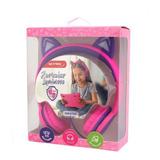 Auriculares Luminosos Limitador Volumen Para Niños Kids