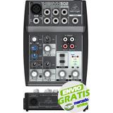 Consola Mixer Behringer Xenyx 502 5 Canales Phantom La Roca