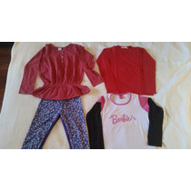 Lote Ropa Nena Cheeky Barbie Talle 10