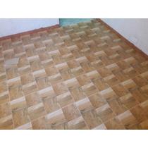 Ceramica Piso Allpa Imitacion/simil Madera 36 X 36 Roble