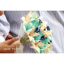 Ramo De Novia Origami Bodas Casamientos