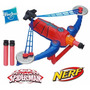 Spiderman Power Webs Lanza Dardos Hasbro Nerf Original