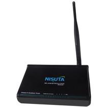 Router Wi-fi Nisuta Ns-wir150nr Ap 150mbps 5dbi