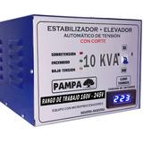 Elevador Automático De Tensión 10 Kva Pampa Estabilizador C