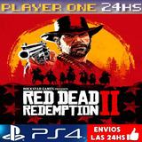 Red Dead Redemption 2 Ps4 Digital 1° | Envio 5' | Subespañol
