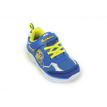 Zapatillas Disney Addnice Minion C/3 Luces Original Deporfan