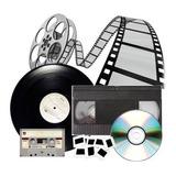 Digitalizaciones De Vhs A Dvd Y De Lp O Cassettes A Cd
