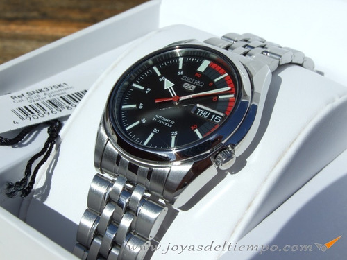 Reloj Seiko 5 Automatico Acero Inoxidable Snk375k1 Gtia ae300a671538