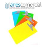 Tabla Porta Block A4 Pvc Varios Colores ! Aprieta Papel