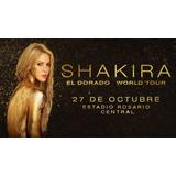 Oportunida! 2 Entradas  Vip Platinum Show Shakira Rosario