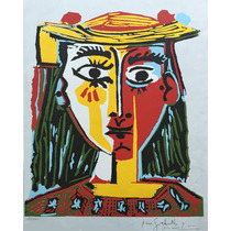 Picasso Pablo - Busto De Mujer Con Sombrero