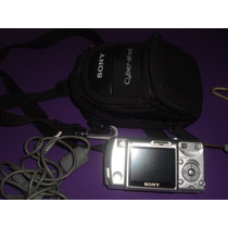 Cámara Digital Sony Cyber-shot C/ Funda Hermosas Fotos!!!!