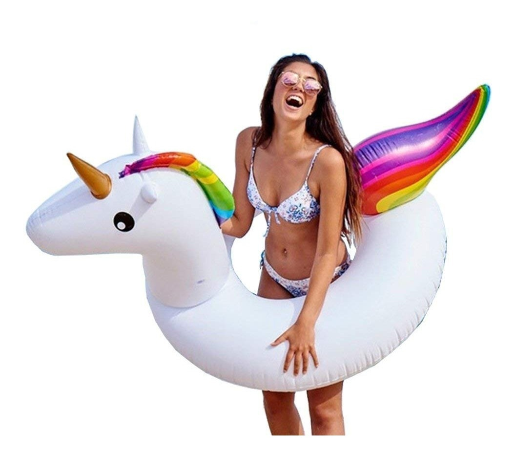 INFLABLE UNICORNIO LARGE 175*120 CM