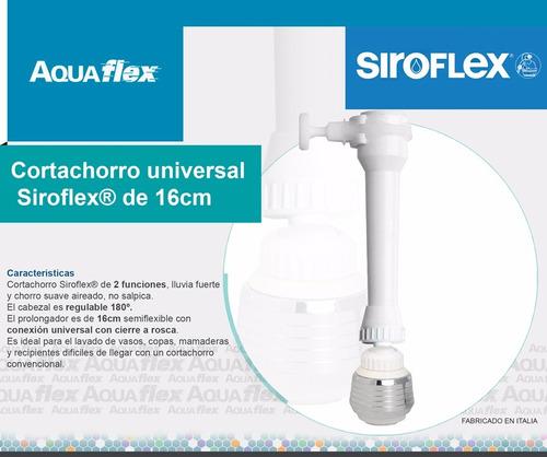 Cortachorro De Canilla Aereador Con Prolongador Aquaflex