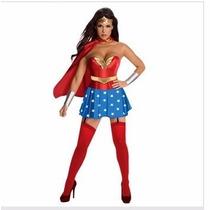 Disfraz Adulto Mujer Maravilla Gatúbela Supergirl Spiderman