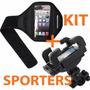 Funda Sports Running + Holder Bici Sony Xperia Z2 Z3 Z4 Z5 +