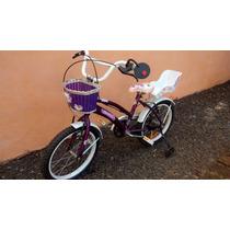 Bicicleta Nena Rodado 16 Nueva De Verdad No Te La Pierdas