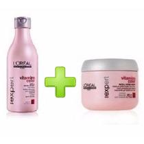 Combo Shampoo + Mascara Capilar Vitamino Color Loreal 250ml