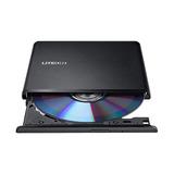 Grabadora Lectora Cd Dvd Externa Slim Liteon Es1 Pc Mac Full