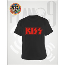Remeras Estampadas Kiss Simmons Stanley Frehley Criss Carr