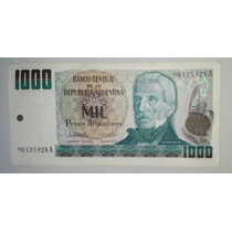 Billete 1000 Pesos Argentinos Serie A