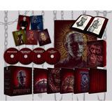 Blu-ray Hellraiser The Scarlet Box / 3 Films Sin Subtitulos