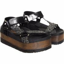 Sandalias Plataforma Ojotas Zapatillas Viamo Magali Shoes
