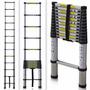 Escalera Telescopica Aluminio Extensible 3,8 Metros