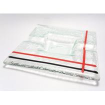 Cenicero En Vitrofusion 10x10 Entrega Inmediata (c20)