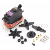 Servo Mg996r Digital Motor Con Accesorios 10kg Torque Metal