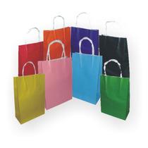 Bolsas De Papel Color Souvenirs Cumpleaños Regalos