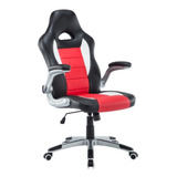 Sillon Gamer Playstation Xbox Gaming Pc Oficina Rojo O Negro