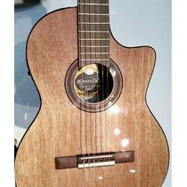 Romantica J1 Ebro Guitarra Con Corte Y Eq Audiomasmusica