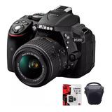 Nikon D5300 Full Kit Lente 18-55 Camara Bolso + 32gb Cuotas