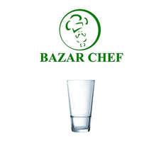 Arcoroc - Vaso Apilable Templado 40 Cl X6 - Bazar Chef