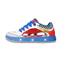 Zapatillas Disney Cars Con Luces Led - Originales!!