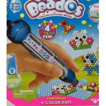 Beados Kit Lapicera 4 Colores Se Une Con El Agua Cod 10708