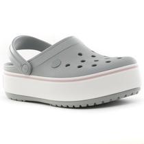 Sueco Crocband Platform Grey Crocs Sport 78 Tienda Oficial