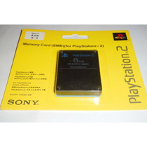 Memory Card 8mb Sony Playstation 2 Blister Sellado Nueva