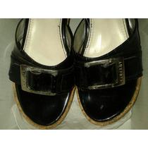 Zapatos Sarkany Número 37 Impecable, Con Suela De Corcho.