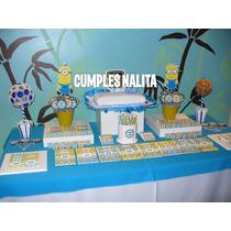 Candy Bar Minions Mi Villano Favorito Golosinas Para 20